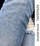 pants jeans fashion | Shutterstock . vector #760505656