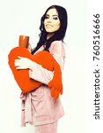 pretty cute sexy girl or... | Shutterstock . vector #760516666