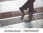 blur of business man in suit...   Shutterstock . vector #760544635