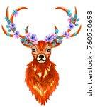watercolor hand drawn isolatwd... | Shutterstock . vector #760550698