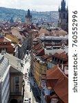 prague  czech republic   june... | Shutterstock . vector #760552996