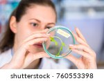 technician in the laboratory of ... | Shutterstock . vector #760553398