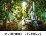 Beautiful Street Full Of Trees...