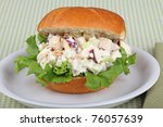 Chicken Salad Sandwich With...
