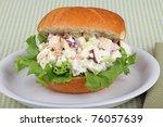 Chicken Salad Sandwich With...