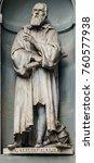 A Statue Of Galileo Galilei...