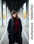 close up fashion street stile... | Shutterstock . vector #760601962