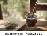 yerba mate is more than just... | Shutterstock . vector #760626112