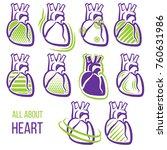 all about heart   Shutterstock .eps vector #760631986