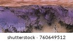 panorama of abstract purple... | Shutterstock . vector #760649512