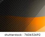 orange abstract template for... | Shutterstock . vector #760652692