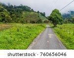 Road Near Bajo Grande Village...