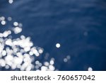 abstract out of focus water... | Shutterstock . vector #760657042