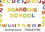 educational systems made out of ... | Shutterstock . vector #760669786