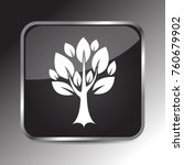 tree icon 3d. internet icon 3d... | Shutterstock .eps vector #760679902