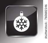 snow bells icon 3d. internet... | Shutterstock .eps vector #760682146