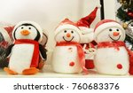 merry christmas and happy new... | Shutterstock . vector #760683376