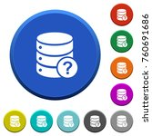 database query round color... | Shutterstock .eps vector #760691686