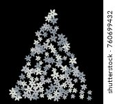 vector confetti background... | Shutterstock .eps vector #760699432