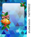 christmas  holiday background...   Shutterstock .eps vector #760705012