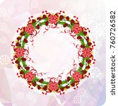 holiday background with...   Shutterstock .eps vector #760726582