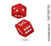vector illustration of red... | Shutterstock .eps vector #760730755