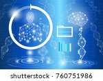 abstract background technology... | Shutterstock .eps vector #760751986
