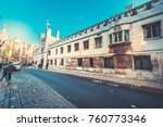 oct 21  2017   cambridge ... | Shutterstock . vector #760773346