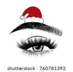 hand drawn woman's sexy...   Shutterstock .eps vector #760781392