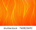light orange vector abstract... | Shutterstock .eps vector #760823692