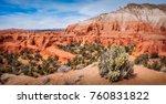 panoramic view of kodachrome... | Shutterstock . vector #760831822