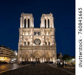 paris  france   october 17 ... | Shutterstock . vector #760841665