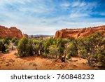 kodachrome basin state park... | Shutterstock . vector #760848232