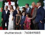 los angeles nov 5 2017  mel... | Shutterstock . vector #760849885