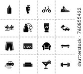 simple 16 set of lifestyle... | Shutterstock .eps vector #760855432