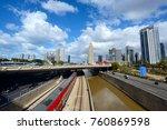 tel aviv  israel   november 22... | Shutterstock . vector #760869598