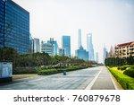 shanghai modern building | Shutterstock . vector #760879678