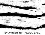 grunge black and white pattern. ... | Shutterstock . vector #760901782