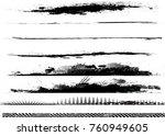 edges vector set . design... | Shutterstock .eps vector #760949605