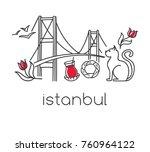modern vector illustration...   Shutterstock .eps vector #760964122