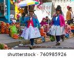 huaraz  peru   july 27 ... | Shutterstock . vector #760985926