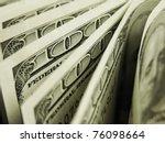 dollars | Shutterstock . vector #76098664