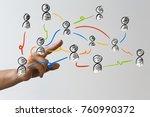 people group illustration | Shutterstock . vector #760990372