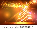 new year abstract background | Shutterstock .eps vector #760993216