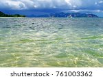emerald water of the andaman... | Shutterstock . vector #761003362