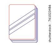 isolated book design   Shutterstock .eps vector #761023486