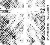 grunge black and white pattern. ...   Shutterstock . vector #761028895