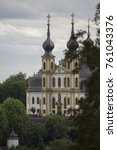 Small photo of Church in Rococo style by Balthasar Neumann in the mid-18th century in Würzburg, Bavaria, Germany