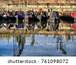 Boats In The Canals In London...