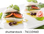 photo of delicious stuffed... | Shutterstock . vector #76110460